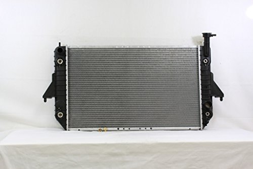 Van Radiator Safari (Radiator - Pacific Best Inc For/Fit 1688 95 Chevrolet Astro GMC Safari Van V6 4.3L Plastic Tank Aluminum Core)