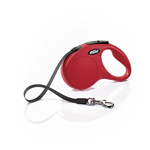 Flexi Classic Tape Leash, Small, 16 ft, Red
