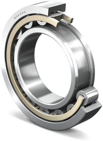 15 mm Width 25 mm ID Straight Bore 52 mm OD NSK NU 205 M Cylindrical Roller Bearing