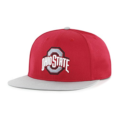 (NCAA Ohio State Buckeyes Gallant OTS Varsity Snapback Adjustable Hat, One Size, Red )