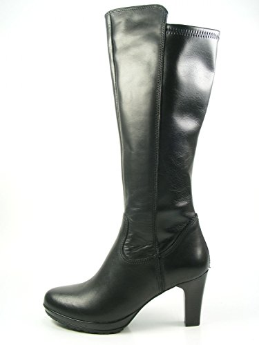 Black 25548 Schwarz Knee Tamaris 001 Boots high 72 Womens Carmen SwBaqOF