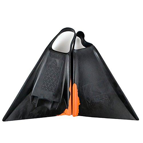 Mike Stewart Delta Viper Swimfins - Orange - M Viper Surf Fins