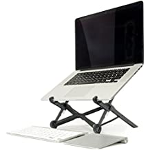 Roost Laptop Stand – Adjustable and Portable Laptop Stand – PC and MacBook Stand, Made in USA