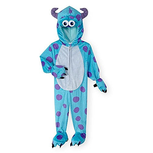 [Disney Boys' Blue/Purple Monsters, Inc. Sulley Halloween Costume- 3 Toddler] (Sully From Monsters Inc Costume)