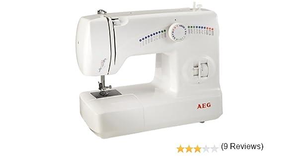 AEG 210 - Máquina de Coser, 25 programas y Diferentes Funciones ...