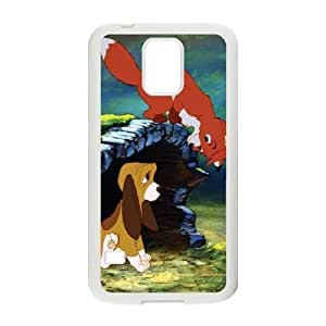 samsung_galaxy_s5 phone case White Fox and the Hound BFS8474695