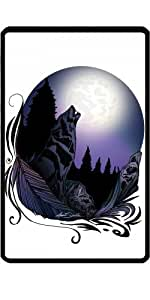 Funda para Kindle Fire 7 pouces - El Aullido De Lobo (diseño De La Firma by Adamzworld