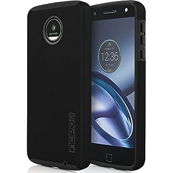 Incipio Motorola Moto Z Play DualPro Case - Black/ Black