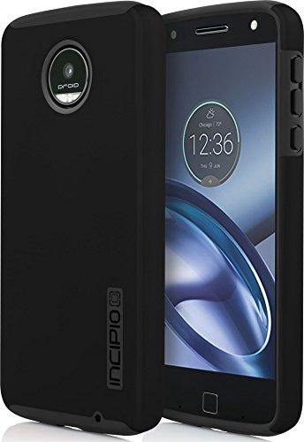 - Incipio MT-388-BLK Motorola Moto Z Play DualPro Case - Black/Black