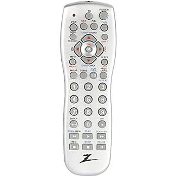 amazon com amertac zenith zp305m zp305m 3 device universal remote rh amazon com Zenith Remote Codes Old Zenith Remote Codes