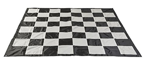 Uber Games Giant Chess and Checkers Game Mat - Nylon by Uber Games