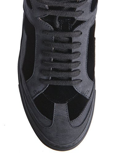 Mm6 Damen Alta Top-sneaker Nero 900 Nero
