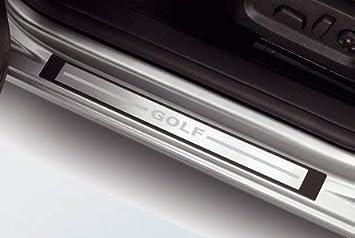 Original Volkswagen VW Repuestos VW Estribos Golf 6, Acero Inox., Accesorio Original: Amazon.es: Coche y moto