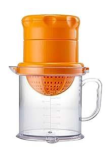Plastic Manual Fruit Juicer Lemon Squeezer Baby Food Citrus Juicer ORANGE
