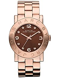 Marc by Marc Women's MBM3167 Brown Rose-Gold Analog Quartz Watch