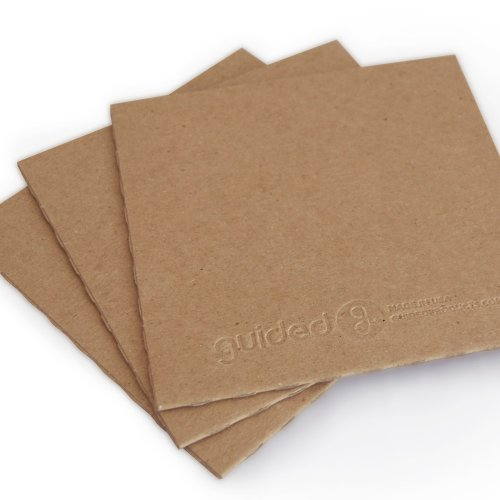 Recycled CD/DVD Sleeve No Hole - (Embossed Chipboard)