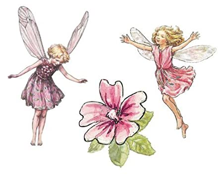 Flower Fairy Prepasted Wallpaper Cutouts