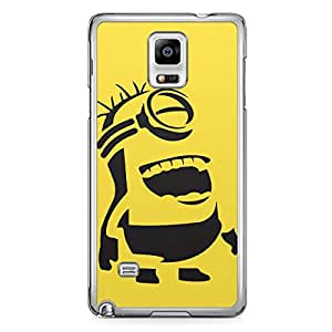 Minion Samsung Galaxy Note 4 Transparent Edge Case - B