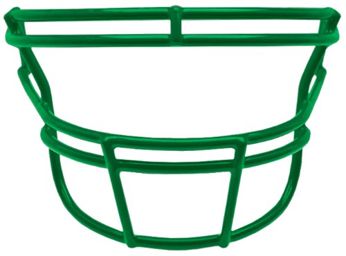 Schutt Sports Carbon Steel DNA-ROPO Youth Football Faceguard, Kelly Green