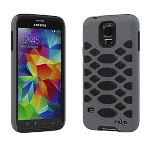 For Samsung Galaxy S5 - ZIZO Premium HEX Cover - Gray/Black HEX