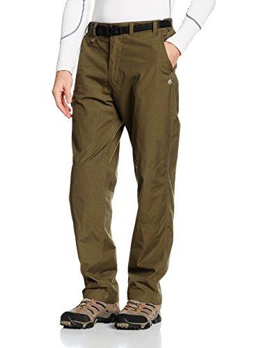 Craghoppers Men's Kiwi Trousers, Dark Moss, 30