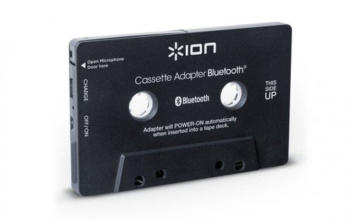 (ION Audio Cassette Adapter Bluetooth | Bluetooth Music Receiver for Cassette Decks)