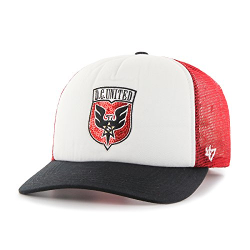 MLS D.C. United Glimmer Captain Adjustable Snapback Hat, Red, One Size, Red (T-shirt Classic United)