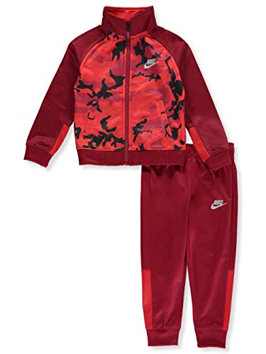Nike Boys' 2-Piece Tracksuit - red Crush, 5