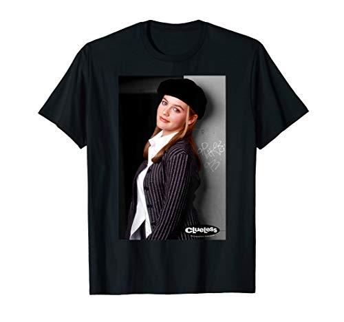 Clueless Cher Horowitz Pinstripe Blazer Beret Portrait  T-Shirt