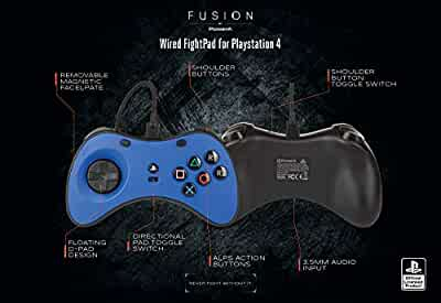 Amazon.com: PowerA Fusion Wired Fightpad for PlayStation 4 ...