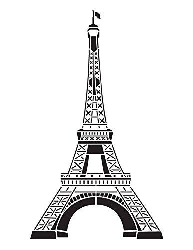 amazon com eiffel tower stencil by studior12 french travel art
