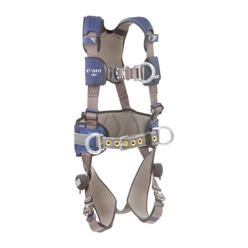 DBI/Sala 1113157 ExoFit NEX Construction Style Full Body Harness, Blue/Gray, Large -