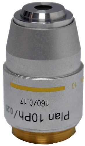 Swift Optical MA10052 10XRD Phase Plan Objective, For M10, M