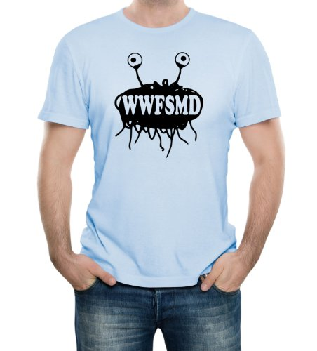 What Would Flying Spaghetti Monster Do FSM Funny Adult T-Shirt