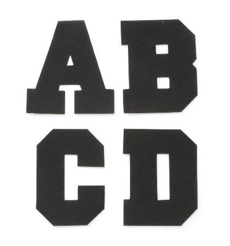 Darice 106-3154 110-Pack Foamies Alphabet Sticker Bag, Varsity Font, 4-Inch