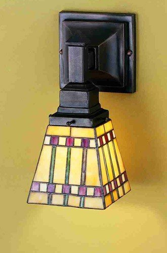 Prairie Corn Wall Sconce (Sconces Tiffany Wall Meyda)