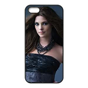ashley green in black dress iPhone 5 5s Cell Phone Case Black PSOC6002625640061
