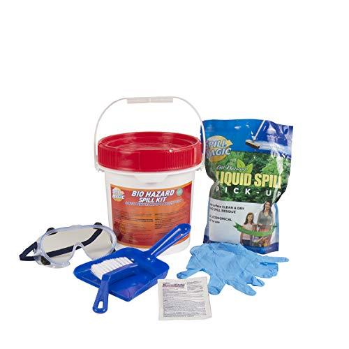 Spill Magic 97501 Bio Hazard Spill Kit Container