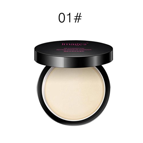 Makeup Brush,DMZing IMAGES Makeup Face Loose Finishing Powder Translucent Smooth Setting Foundation (A)