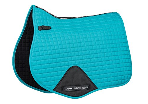 Weatherbeeta Prime All Purpose Saddle Pad Turquoise Full (Best Saddle Pad For High Withers)