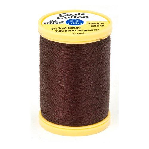 Coats & Clark General Purpose Cotton 225 yd. Chona Brown, Chona Brown