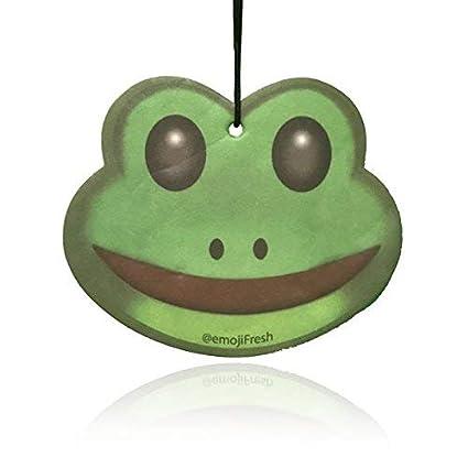 Amazon.com: Boostnatics EmojiFresh Frog Emoji Car Air ...