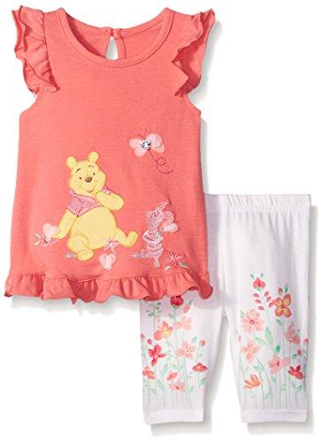 Disney Baby Winnie The Pooh Ruffled Dress with Legging Or...