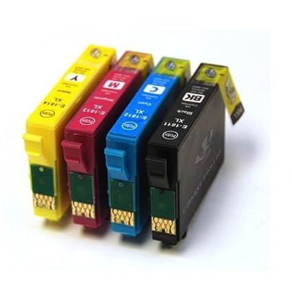 Badger tintas cartuchos de tinta compatibles, 18XL Daisy sustituir ...