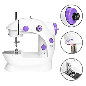 Best Choice Products Sewing Machine w/ 12 Preset Stitch Patterns, Built-In Sewing Light, Drawer, Foot Pedal from Best Choice Products