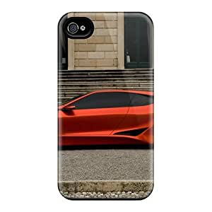 Ideal GAwilliam Case Cover For Iphone 4/4s(bmw M1 Homage Concept Side View), Protective Stylish Case