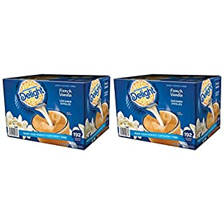 International Delight French Vanilla, 192 Count Single-Serve Coffee Creamers [2 Pack]