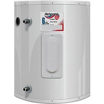 RHEEM/RICHMOND 6ep20-1, 2000 W, 120 Vac, Tank Electric Water Heater, 20 Gal, 20 Gallon