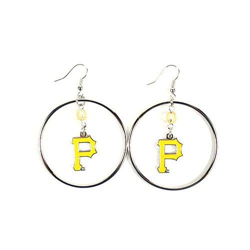 MLB Pittsburgh Pirates Color Bead Hoop ()