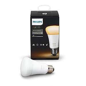Philips 461004 Hue White Ambiance A19 Single Bulb
